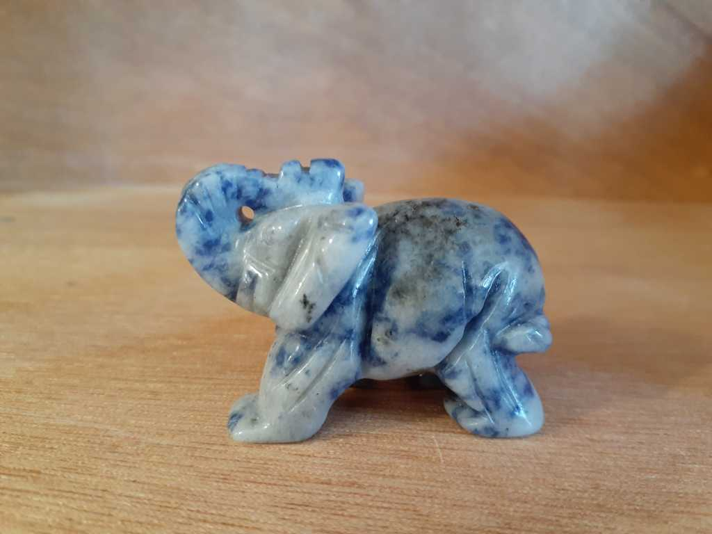 Animal Elephant Sodalite