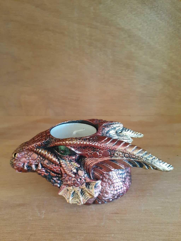 Figurine Dragon Candle