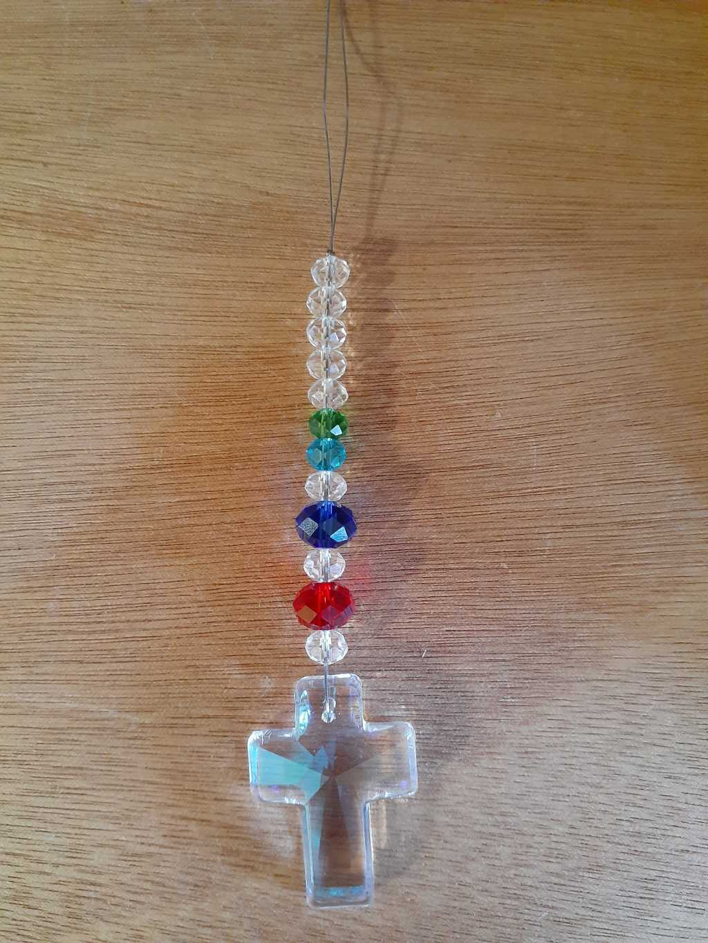 Sun Catcher Cross