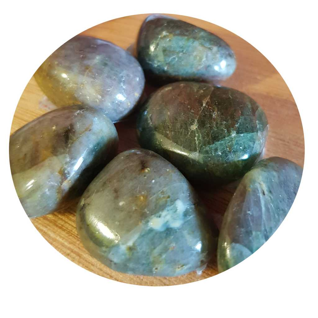 Tumbled Diopside