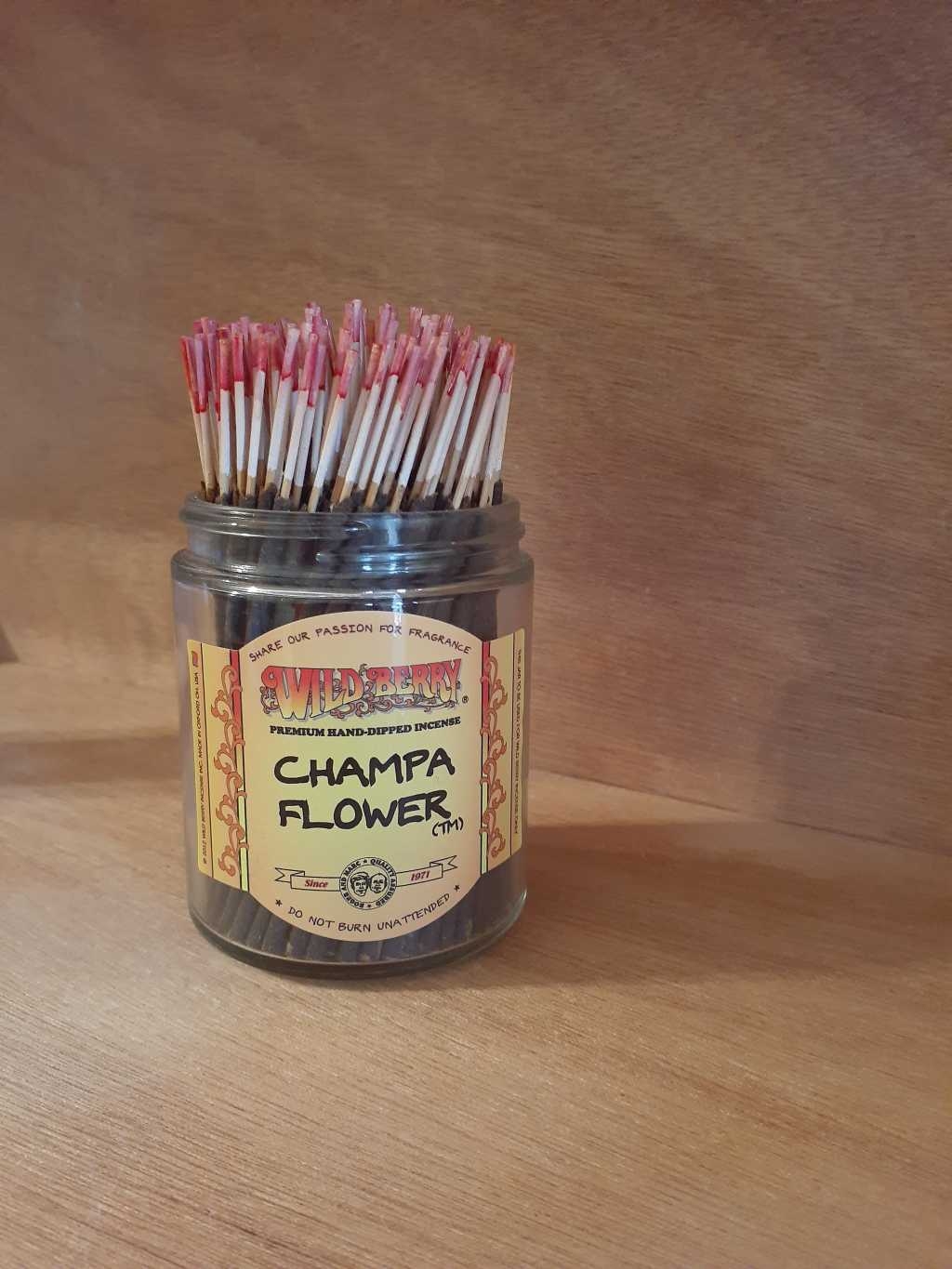 Incense Wild Berry Champa Flower