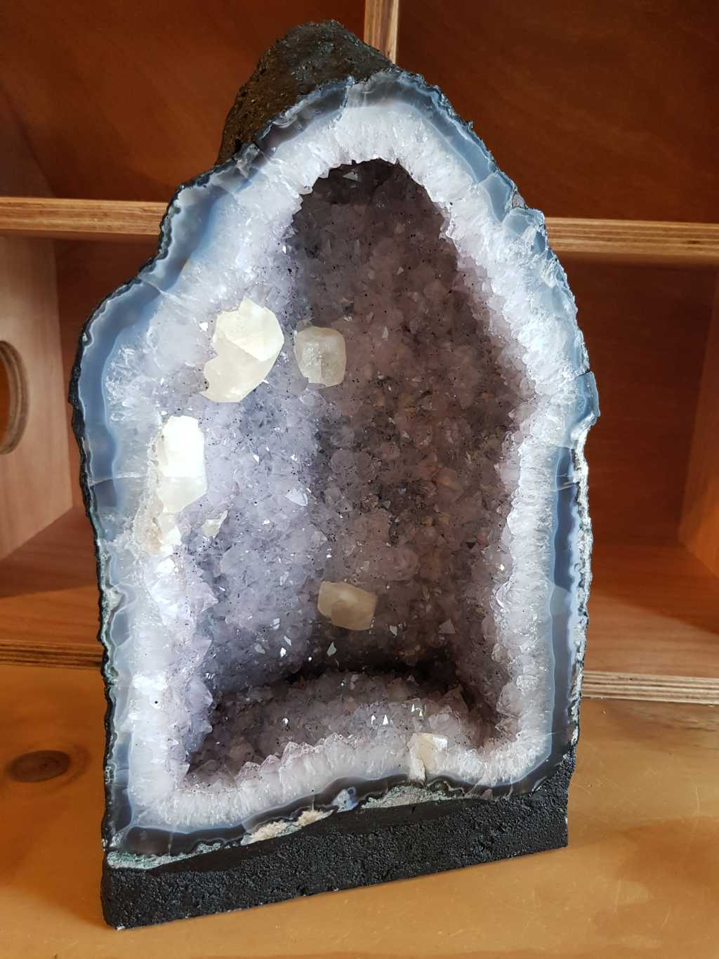 Cave Amethyst with Quartz
