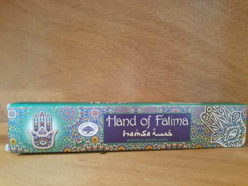 GREEN TREE HAND OF FATIMA 15GM