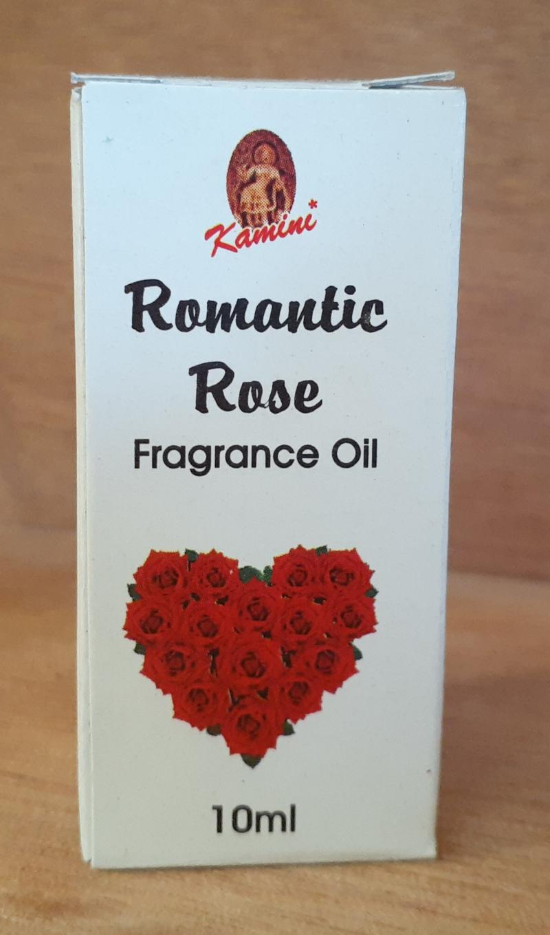 FRAGRANCE OIL ROMANTIC ROSE 10ML