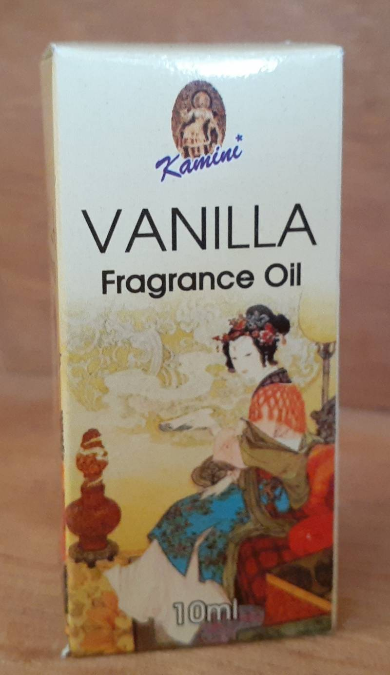 FRAGRANCE OIL VANILLA 10ML
