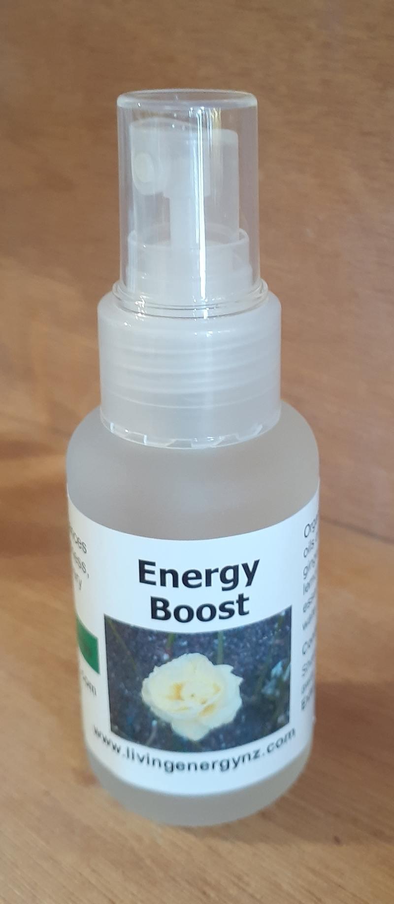 AROMATHERAPY SPRAY BLEND ENERGY BOOST